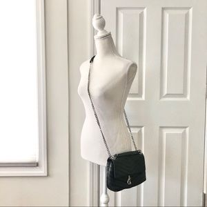 Rebecca Minkoff Black Small Edie Quilted Crossbody